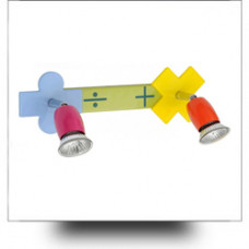 Поворотные светильники и споты в детскую