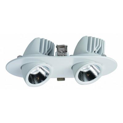 Встраиваемый светильник Cardani A1212PL-2WH