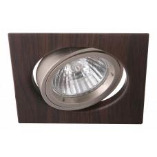 Комплект из 3 встраиваемых светильников Wood A2206PL-3BR