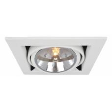 Встраиваемый светильник Cardani A5935PL-1WH