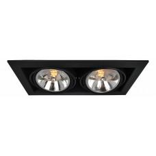 Встраиваемый светильник Cardani A5935PL-2BK