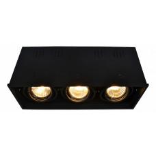 Накладной светильник Cardani A5942PL-3BK