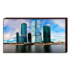 Панно (90х60 см) Москва-Сити M-1021