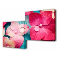 Набор из 2 панно (100х50 см) Цветок BT S-4113H