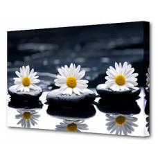 Панно (75х50 см) Цветы и камни BT Y-1004H