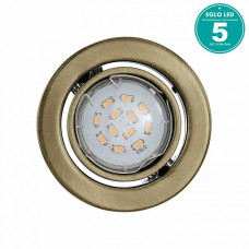 Комплект из 3 встраиваемых светильников Igoa 93239