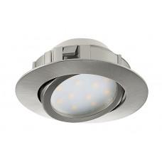 Комплект из 3 встраиваемых светильников Pineda 95859
