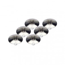 Комплект из 6 встраиваемых светильников Lyra G94530/13