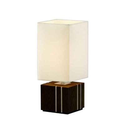 Настольная лампа декоративная Woods A1012LT-1BK