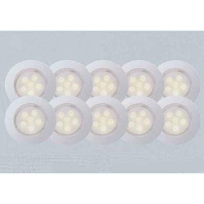 Комплект из 10 встраиваемых светильников Cosa 45 G03094/75