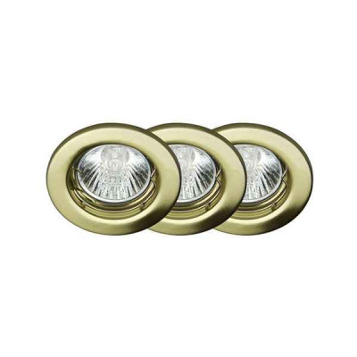 Комплект из 3 встраиваемых светильников Classic G94504/18