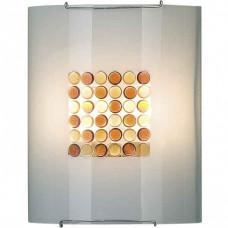 Накладной светильник Желтый Конфетти 6x6 922 CL922312