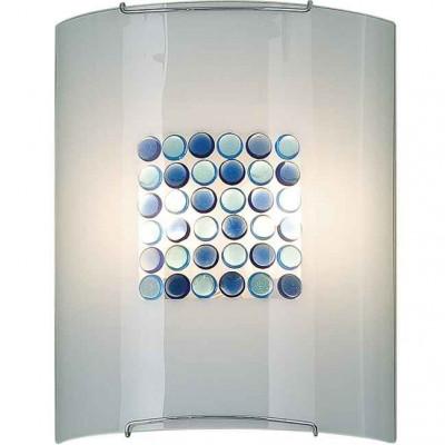 Накладной светильник Синее Голубое Конфетти 6x6 922 CL922313
