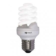 Лампа компактная люминесцентная E27 15Вт 4100K Slim 321015