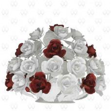 Настольная лампа декоративная Розалия 423030301