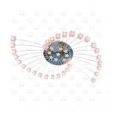 Потолочная люстра Каскад 5 244011630