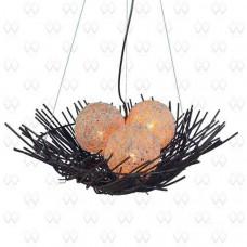 Подвесной светильник Ротанг 5 226016203 new