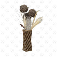 Настольная лампа декоративная Ротанг 14 376040603