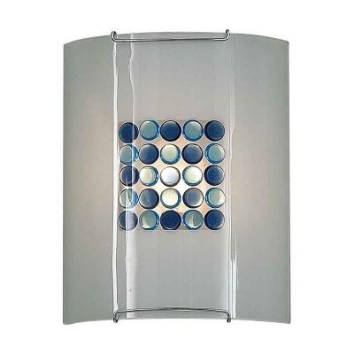 Накладной светильник Синее Голубое Конфетти 5x5 921 CL921313