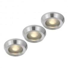 Комплект из 3 встраиваемых светильников Einbaustrahler 12250-3
