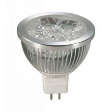 Лампа светодиодная GX5.3 12В 4Вт 3000K 357072