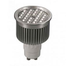 Лампа светодиодная GU10 220В 5Вт 4100K 357102
