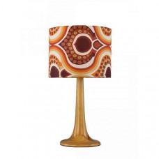 Настольная лампа декоративная Zulu A1962LT-1BR
