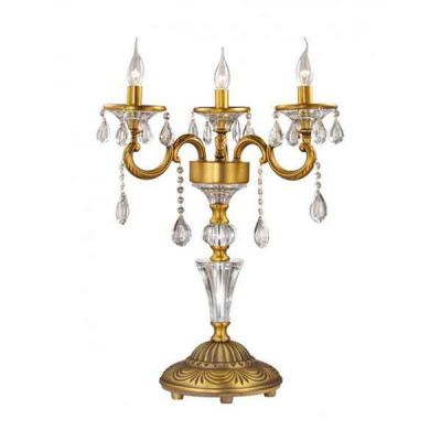Настольная лампа декоративная Aviora 2454/3T