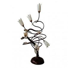 Настольная лампа декоративная Ксения 346030805