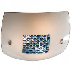 Накладной светильник Синее Голубое Конфетти 8x8 CL933031