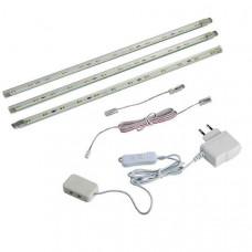 Комплект из 3 накладных светильников Termo 357016